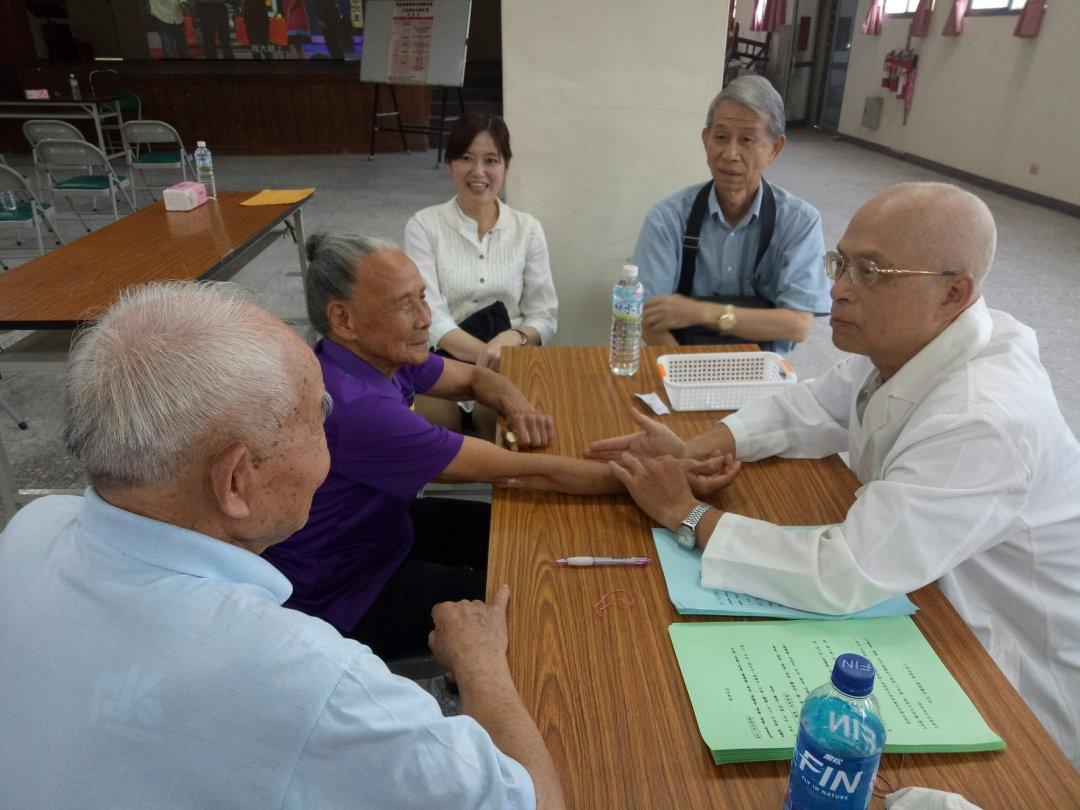 長者健康醫療保健講座暨社區義診活動 (1)