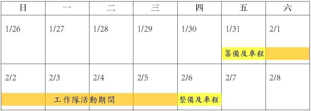 2020年東海社工花蓮部落工作隊和仁兒童組企劃書-康堤教育基金會5
